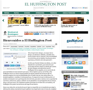 El Huffington Post (07/06/2012)